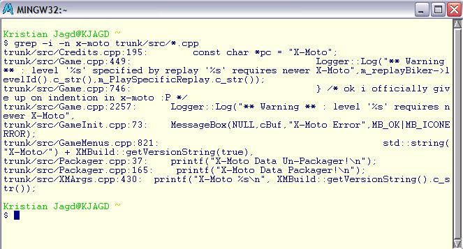 File:Msys grep png - X-Moto